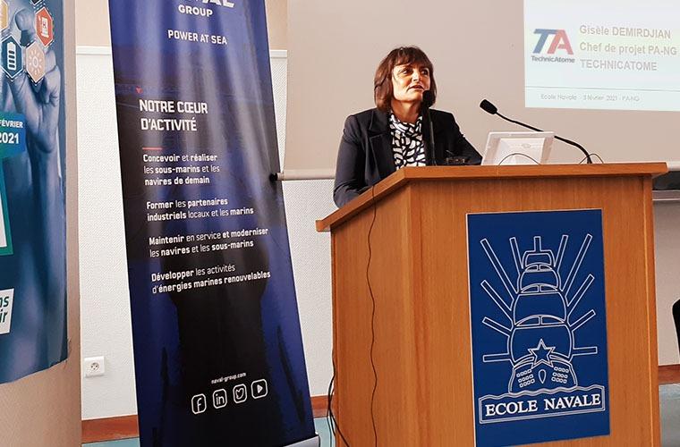 TechnicAtome a présenté la chaufferie K22 à la Journée des Sciences Navales