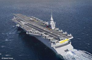 La propulsion du futur porte-avions sera nucléaire