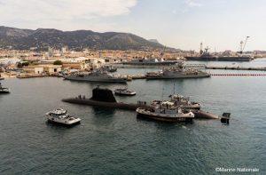 Arrivée du Suffren à Toulon